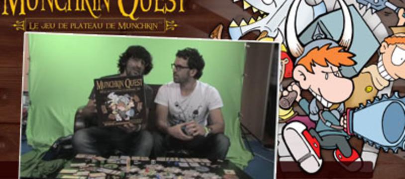 Munchkin Quest, tout l'humour de Munchkin sur un plateau