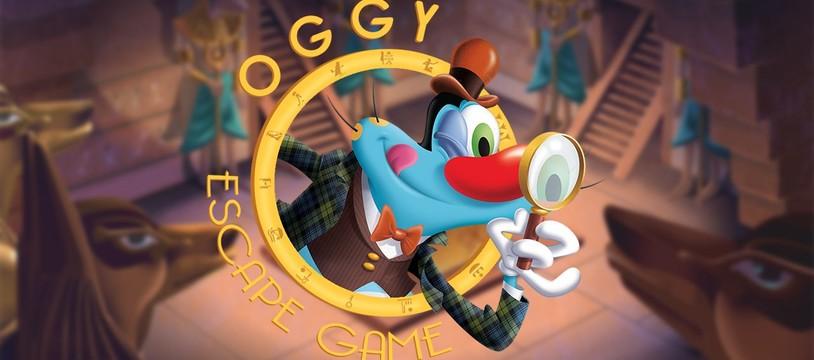 [Escape Game] Oggy prisonnier du temps : une salle fun pour adultes