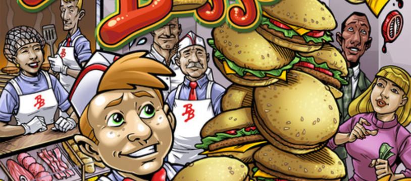 Les explications du jeu Burger Boss