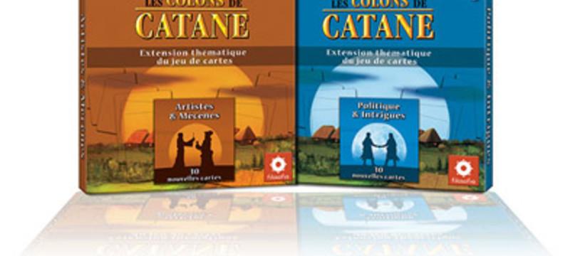 2 extensions pour Colons de Catane à 2