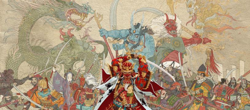 Rising Sun : Eric Lang et le bushido sur un plateau