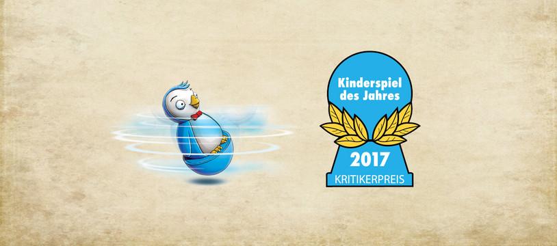 Le Spiel des Jahres Kinder  2017 est