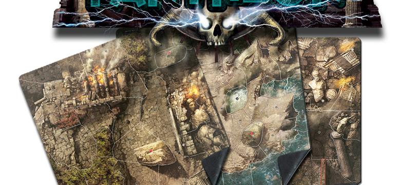 Les tapis de Jeux MYTHIC BATTLES !