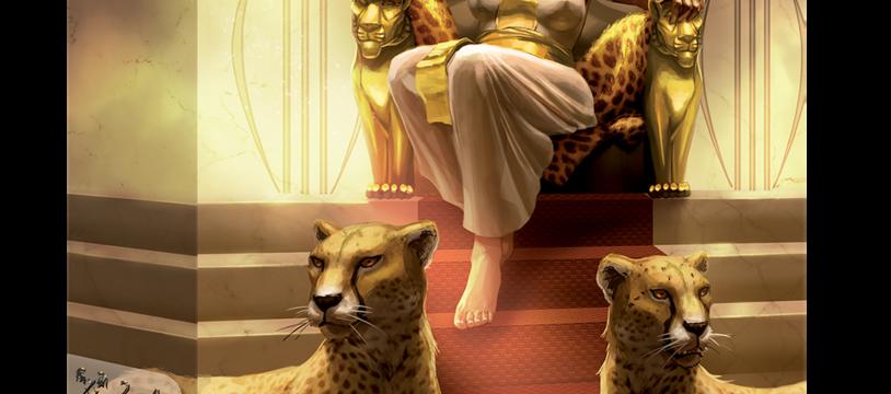 Deus Egypt - Episode 5 : les jetons Combat et les cartes Temple