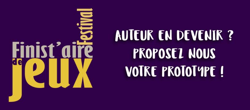 Parrainage de futurs auteurs de jeux au prochain festival Finist'Aire de Jeux !