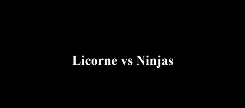 Licorne vs Ninjas : le nouveau jeu gratuit qui cartonne
