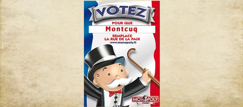 Monopoly France, votez