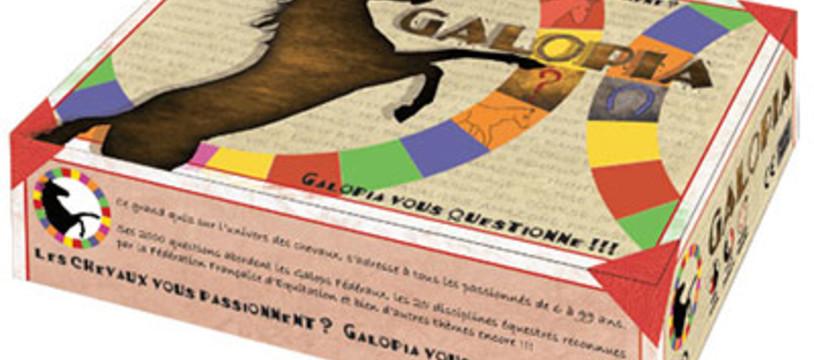Galopia n'est pas sponsorisé par Findus
