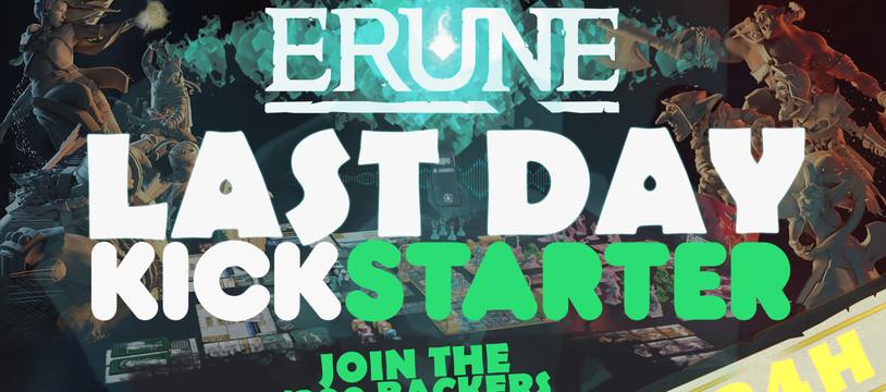 ERUNE plus qu'une journée sur Kickstarter