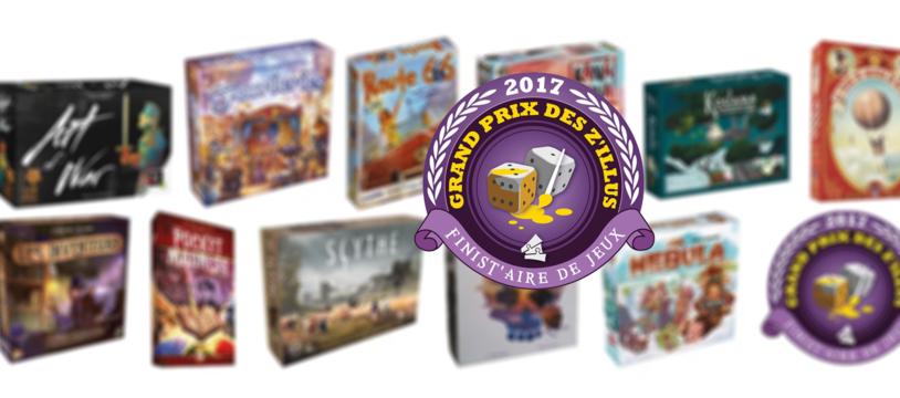 Grand Prix des Z'illus 2017, la sélection