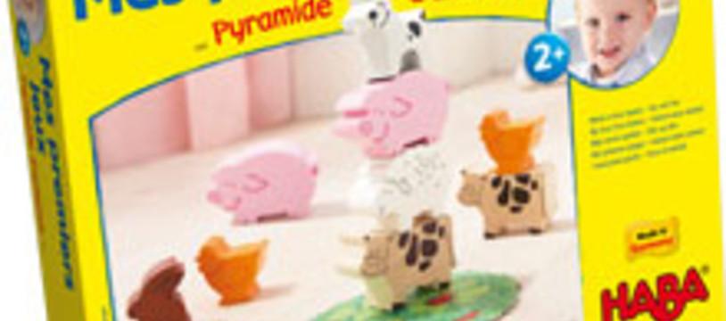 Pyramide d'animaux-Mes premiers jeux est là