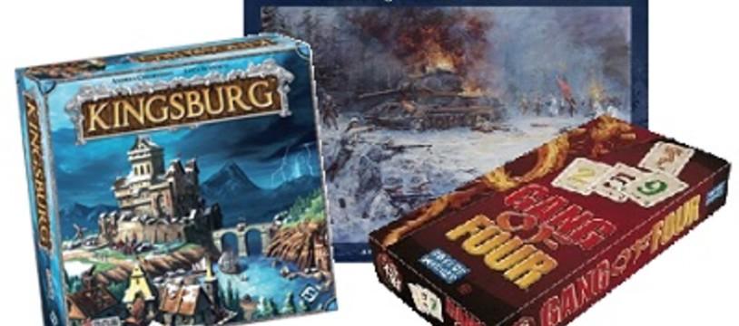 [Hem présente] Kingsburg, Conflict of Heroes et Gang of Four en vidéo !