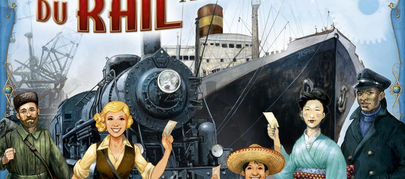 Les Aventuriers du Rail - Autour du Monde : après la vapeur, la voile !