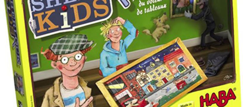 Sherlock Kids : sur les traces du voleur de tableaux