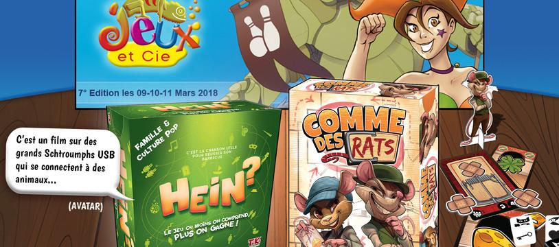 """""""HEIN ?"""" et """"Comme des Rats"""" au festival Jeux Et Cieà Épinal du 9 au 11 mars"""