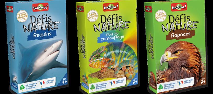 Trois nouveaux Défis Nature