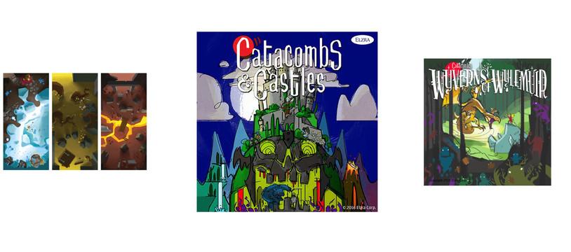 Catacombs & Castles : À dos de Wyvern !