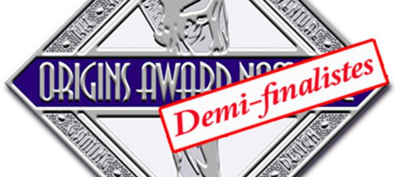 34th Origins Awards, la première étape