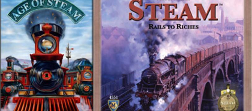 Deux Age of Steam en 2009