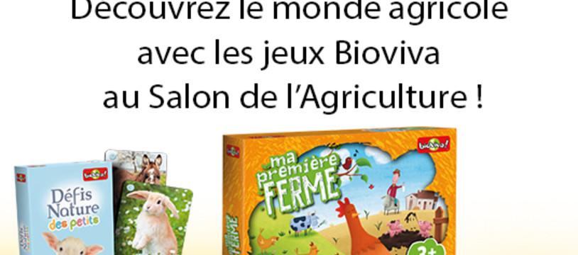 Découvrez Bioviva lors du Salon de l'Agriculture - Espace enfants