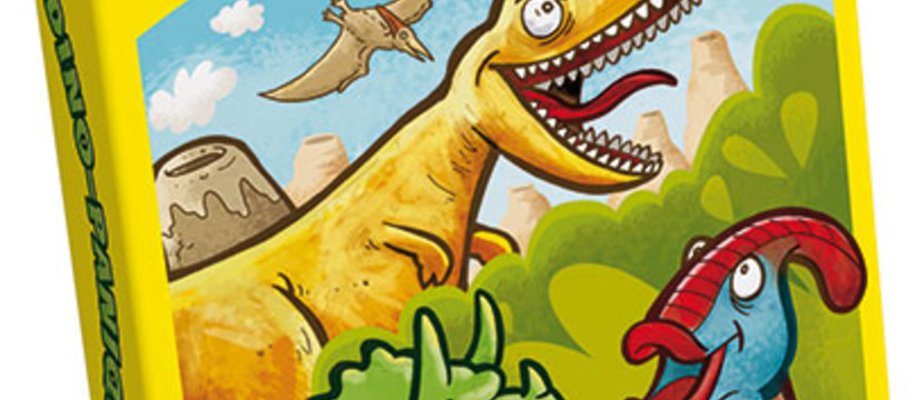 Dino-Panique, un mémory-like dinosauresque