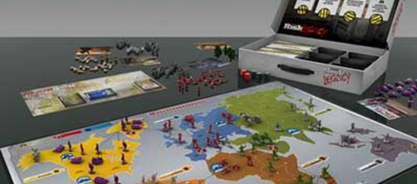 """""""Risk Legacy"""" : Le premier jeu de plateau évolutif ?"""