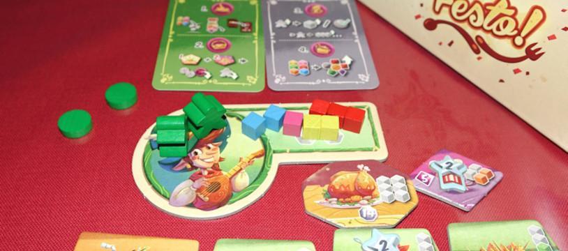 Sur le Vif! Review de Festo! Un  jeu familial haut en couleur!