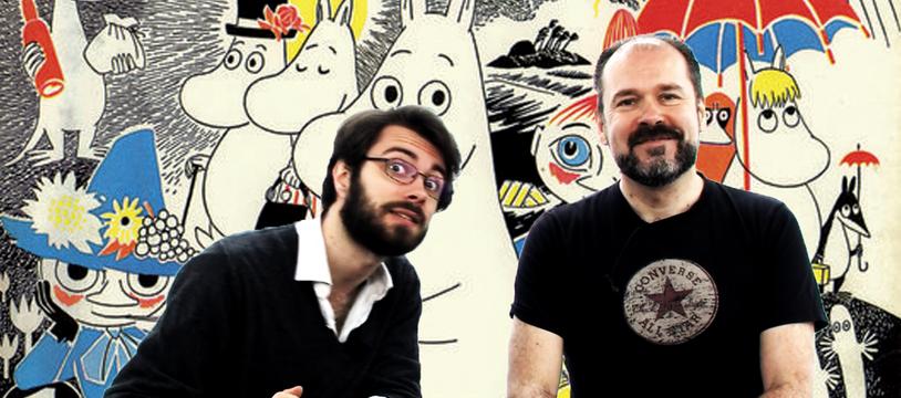Strip Trac, Les Moomins
