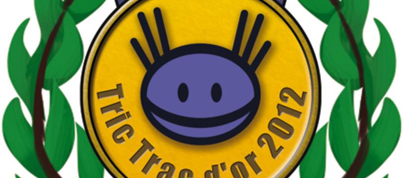 Les finalistes des Tric Trac d'Or 2012 sont