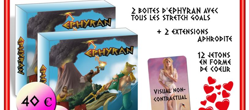 14 Février seulement : Aphrodite débarque pour le KS d'EPHYRAN !!!