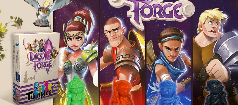 Dice Forge - Twinples - Le concours d'avant-première