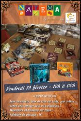 Soirée jeux au Café Jeux Natema (Plateau & JDR)
