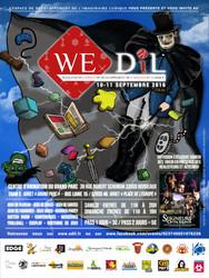 Le WE-DIL/Week-End de l'Espace de Développement de l'Imaginaire Ludique 2016