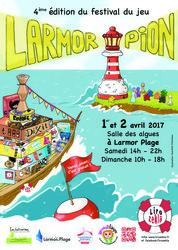 4ème édition du Festival du Jeu Le Larmor'Pion