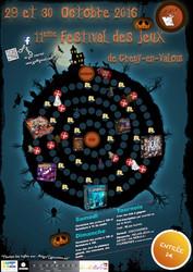 11ème festival des jeux de société à Crépy-en-Valois