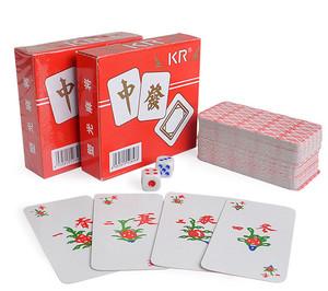 Jeu de cartes de Mah-Jongg