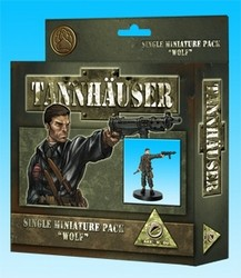 Tannhäuser : Single miniature pack wolf