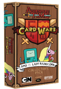 Adventure Time Card Wars : B-Mo VS Lady Rainicorn