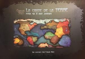 Cthulhu Wars: Extension  La carte de la terre pour Six à huit joueurs