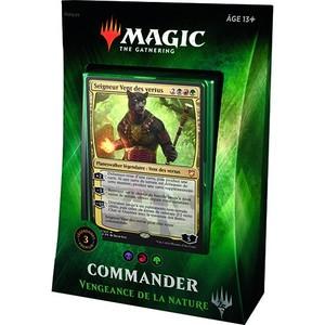 Magic the Gathering : Vengeance de la Nature - Deck Commander 2018