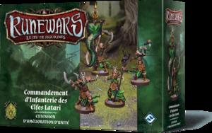 Runewars - Commandement d'Infanterie des Elfes Latari