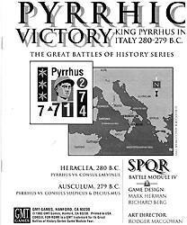 SPQR : Pyrrhic Victory