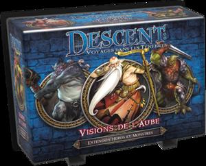 Descent V2 - Extension Héros & Monstres : Visions de l'Aube