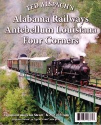 Age of Steam: Alabama Railways - Antebellum Louisiana - Four Corners