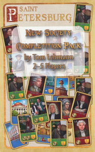"Saint Pétersbourg - Extension ""New Society Completition Pack"""