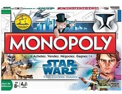 Monopoly - Star Wars the clone wars