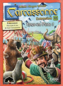 Carcassonne - Extension 10 : Tous en Piste