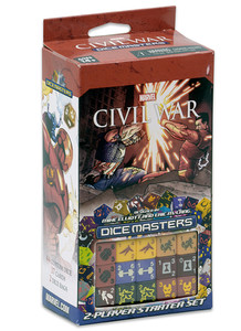 Marvel Dice Master : Civil War