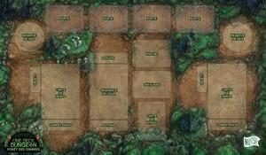 Tapis de jeu : One Deck Dungeon