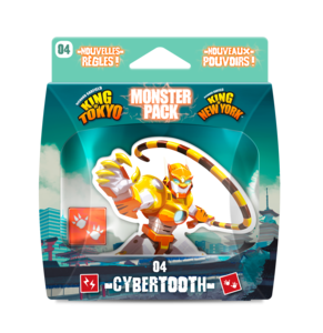 King of Tokyo : Cybertooth Monster Pack